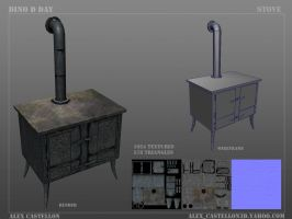 Dino D-Day: Vintage Stove by Daowg
