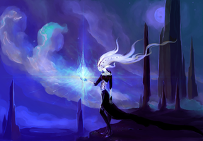 Atevora - cold storm spell by Axarch