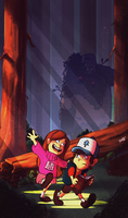 Gravity Falls by yosilog