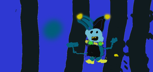 this took me 4 tries to beat  jevil chaos chaos by shinyflygon123