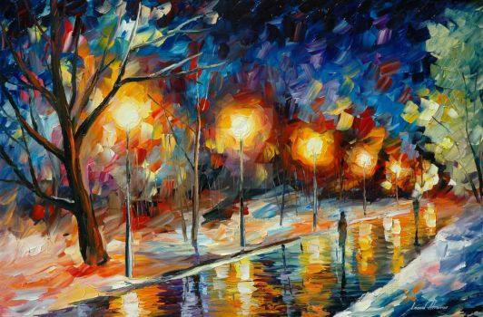 False hopes by Leonid Afremov by Leonidafremov