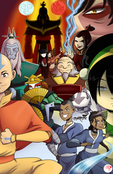 The Last Airbender by Chillguydraws