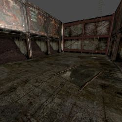 [Silent Hill 3] Splitworm arena by shprops4xnalara