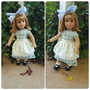 Fifties Style Dress and Apron by CaptainSwanForever