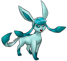#471 Glaceon by allocen