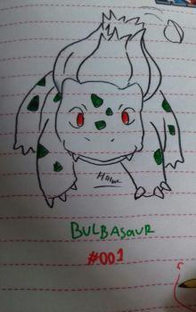 Bulbasaur by pup-fu