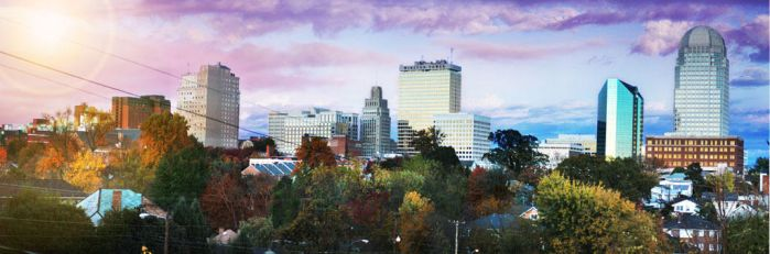 Downtown Winston-Salem by ZGDA