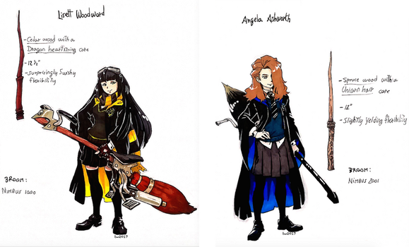Hogwarts new students by twisted-wind