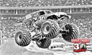 Grave Digger 30th by simplemanAT