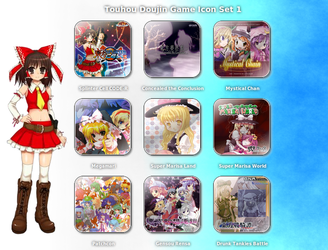 Touhou Doujin Game Icon Set 1 by requiem18th
