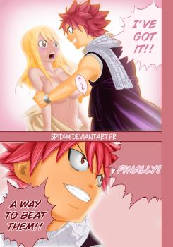 Fairy Tail 331 Natsu Lucy by spidyy