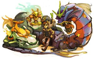 PokeTeam, Andy by L-MakesArt