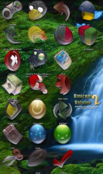 Umicons Volume 2 by mattahan
