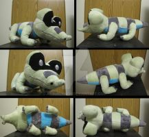 shiny Sandile plush