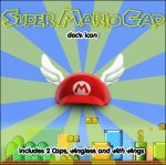 Super Mario Cap- Dock Icon by imwalkingwithaghost