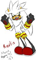 Anti Silver_Revlis the Hedgehog by Zoomies718