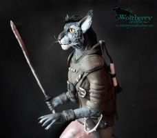 Khajiit of the Skyrim FOR SALE by WolfberryCrafts