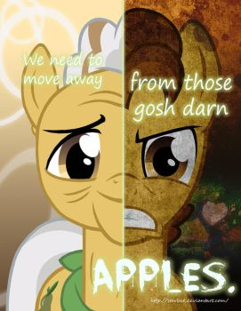 MLP - Two Sides of Grand Pear by Starbat