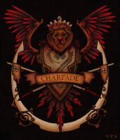 Charfade Coat of Arms Red by charfade