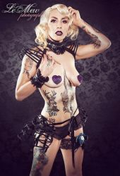 Couture Cupid Pasties by gothfox