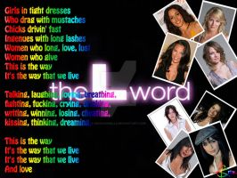 The L Word Wallpaper by kirkchanelle