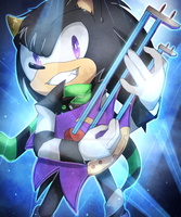 COM - Dust the Hedgehog by Baitong9194