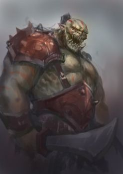 Orc by GeorgeStratulat