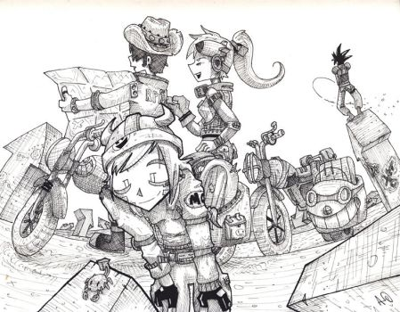 Moto lost by Kite-ridE