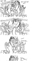 The Evil Villain Laugh by Mickeymonster
