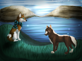 Collab with DarkyDestiny! :D by Afna2ooo