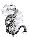 Tiger back by Mary-Pretty-Kitty