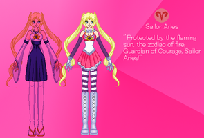 Zodiac Senshi: Sailor Aries by PokemonOmegaandAlpha