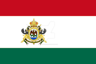 The new flag of the Empire of Mexico by Radogost2019