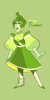 Fusion- Olive Diamond by XombieJunky