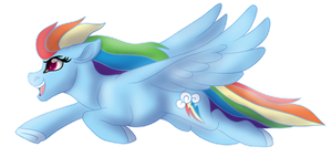 Rainbow Dash Fan Art by Spirit--Productions