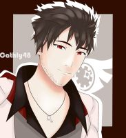 Qrow by Cathly48