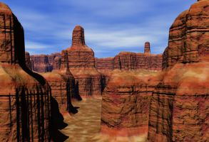 3D Landscape Stock 1 by Camo-Stock