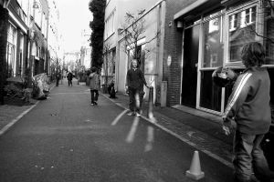Playing in the street by steppeland