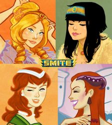 Smite Ladies Close by BehindtheVeil