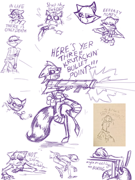 Work (Sketchdump 06) by EnzymeDevice