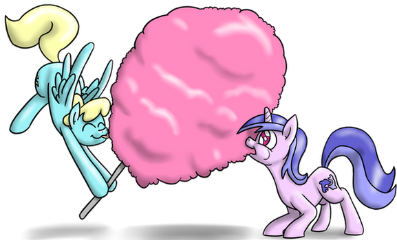The Biggest Cotton Candy by timsplosion