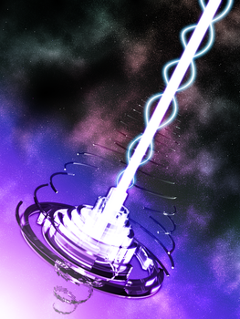 Space Cannon by toomuchkitty