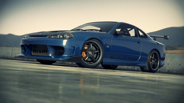 Nissan Silvia S15 outdoor by NasG85