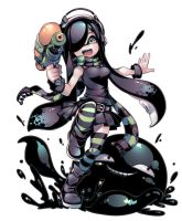 Aria and Gug - Splatoon ver. by Parororo