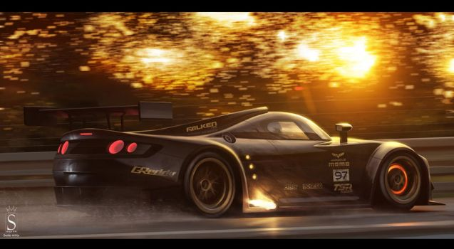 Le Mans prototype by SaphireDesign