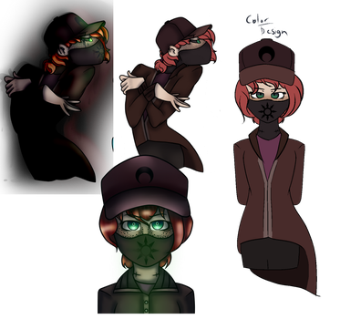 Reference The Vigilante by Pinkwolf201