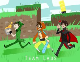 The Lads by EllaMRed