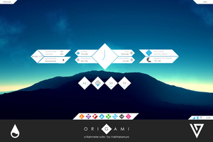 Origami for Rainmeter [1.0] by VakiNakamura