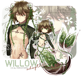 [CLOSED] Willow Auction Adoptable by SynZiac