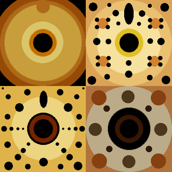 Simplified African Carnivores by Leonca